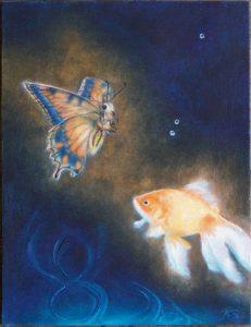 goldfish-butterfly